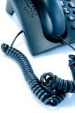 Cuerda de teléfono foto de archivo