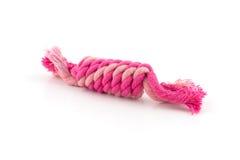 Cuerda del algodón para el juguete del perro Foto de archivo libre de regalías