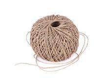 Cuerda del algodón de la bola Imagen de archivo libre de regalías