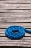 Cuerda del amarre Imagen de archivo