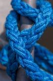 Cuerda del amarre Imagen de archivo libre de regalías