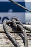 Cuerda del aparejo Foto de archivo libre de regalías