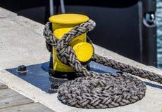 Cuerda del aparejo Imagen de archivo