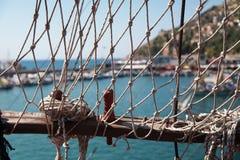 Cuerda del barco Imágenes de archivo libres de regalías