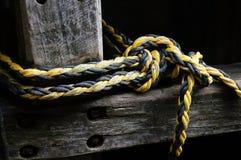 Cuerda del cáñamo Imagenes de archivo