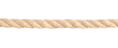 Cuerda del cáñamo Imagen de archivo libre de regalías