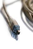 Cuerda del firewire para el vídeo digital fotografía de archivo libre de regalías