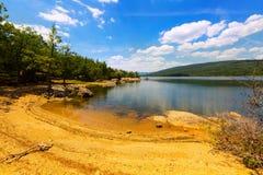 Cuerda del Pozo reservoir Stock Photos