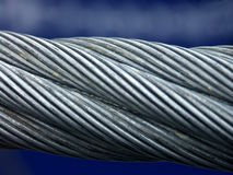 cuerda del Seis-hilo (cuerda 6-strand imagen de archivo libre de regalías