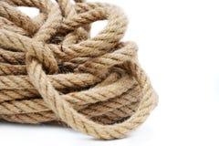 Cuerda durable, gruesa para el cargo fotos de archivo
