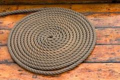 Cuerda en espiral Fotos de archivo libres de regalías
