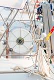 cuerda en la bobina Imagen de archivo