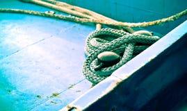 Cuerda en la cubierta Imagen de archivo
