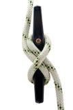 Cuerda en la grapa Foto de archivo libre de regalías