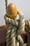 Cuerda en la nave Fotos de archivo