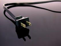 Cuerda larga del cable eléctrico Imágenes de archivo libres de regalías
