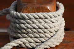 Cuerda marítima Imagen de archivo libre de regalías