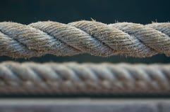 Cuerda marina hecha por cezal Fotografía de archivo