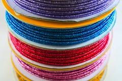 Cuerda multicolora Imágenes de archivo libres de regalías