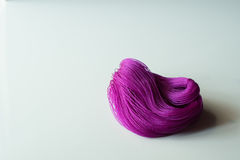 Cuerda púrpura Fotografía de archivo libre de regalías