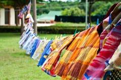 Cuerda para tender la ropa Imagen de archivo