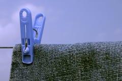 Cuerda para tender la ropa I Fotos de archivo libres de regalías