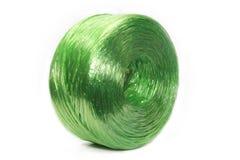 Cuerda plástica verde Foto de archivo libre de regalías