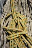 Cuerda que sube Fotografía de archivo