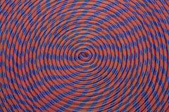 Cuerda que sube colorida en dimensiones de una variable redondas Imagenes de archivo