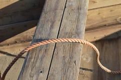 Cuerda rosada Foto de archivo libre de regalías
