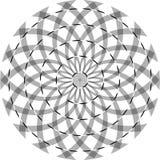 Cuerda torcida una de la ilusión óptica Imagen de archivo libre de regalías