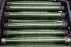 Cuerda verde Fotografía de archivo