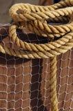 Cuerda y red Imagen de archivo