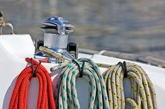 Cuerdas coloreadas Fotografía de archivo libre de regalías