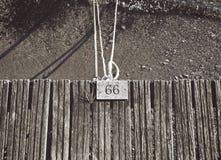 cuerdas de barco del amarre Imágenes de archivo libres de regalías
