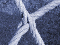 Cuerdas de intersección Fotos de archivo libres de regalías