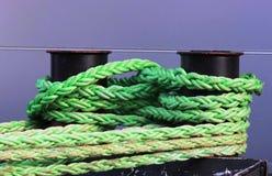 Cuerdas de la amarradura Fotos de archivo