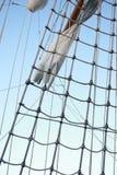 Cuerdas de la nave Fotos de archivo libres de regalías