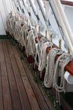 Cuerdas de la nave Fotografía de archivo