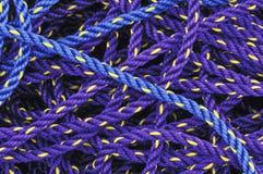 cuerdas de la pesca Fotografía de archivo libre de regalías