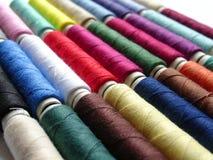 Cuerdas de rosca coloreadas Fotografía de archivo libre de regalías