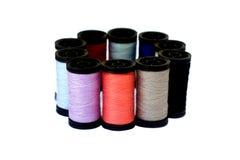 Cuerdas de rosca coloridas Fotografía de archivo libre de regalías