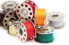 Cuerdas de rosca coloridas Imagen de archivo libre de regalías