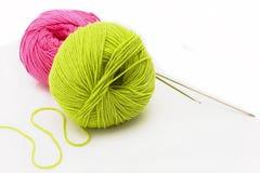 Cuerdas de rosca del color Imagen de archivo libre de regalías