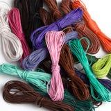 Cuerdas de rosca del color Fotografía de archivo