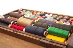 Cuerdas de rosca en un rectángulo Foto de archivo