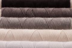 Cuerdas de rosca Greyscale Fotografía de archivo