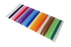 Cuerdas de rosca multicoloras fotos de archivo libres de regalías