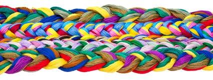 Cuerdas de rosca torcidas Imagen de archivo
