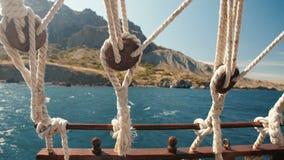 Cuerdas de una nave flotante metrajes